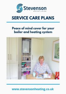 Stevenson Heating service care plans brochure