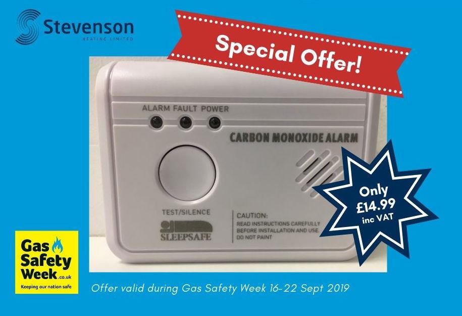 carbon monoxide alarm offer