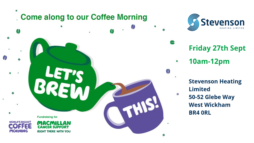 Macmillan coffee morning invite