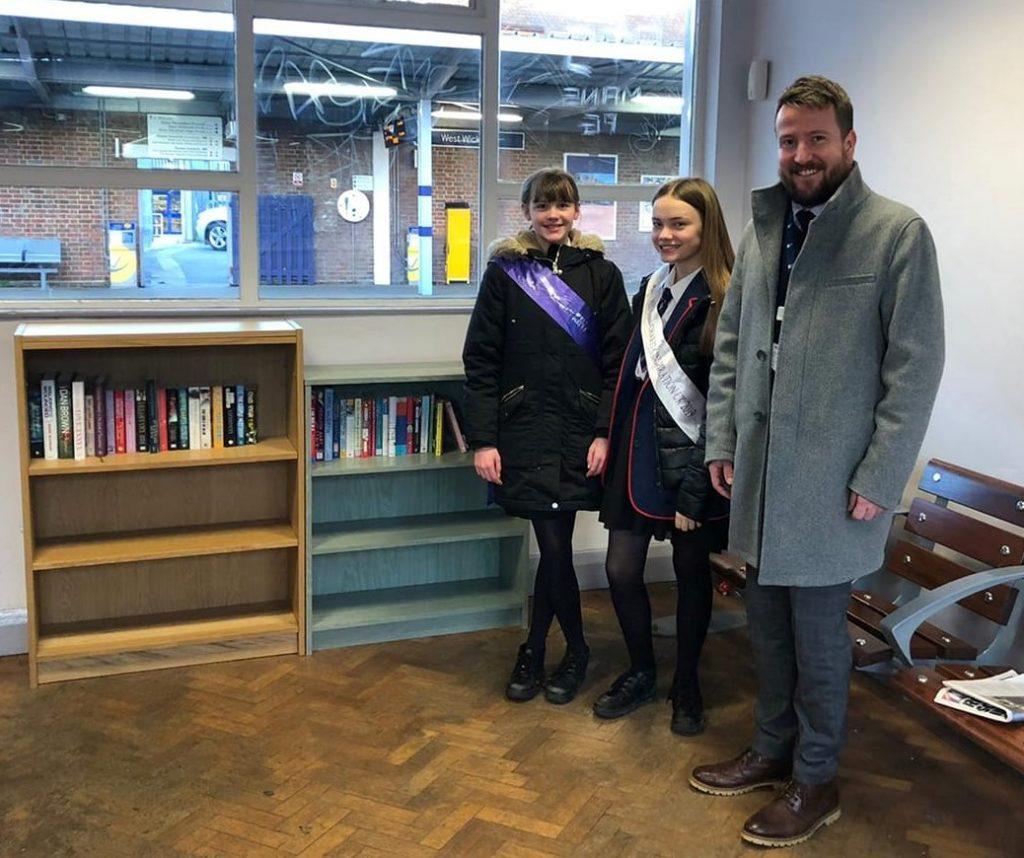 Book Swap at West Wickham station