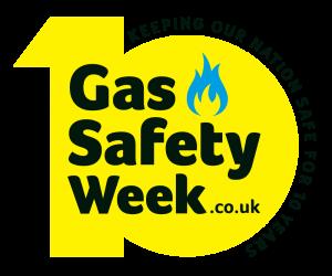 Gas Safety Week 2020 yellow logo