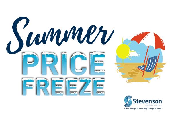 Stevenson Heating Summer Price Freeze 2021